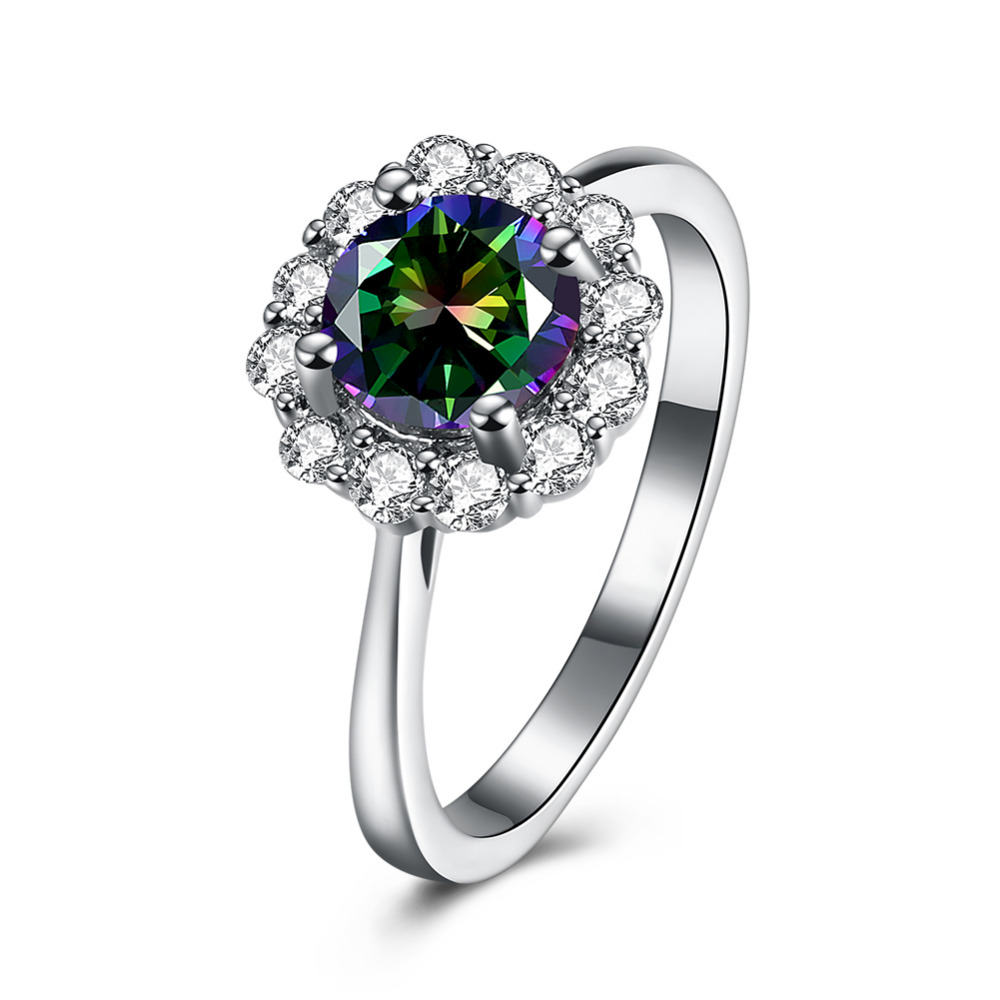 Wedding Flowers And Rings: Fashion Hot Rings For Women Girls Austrian Crystal