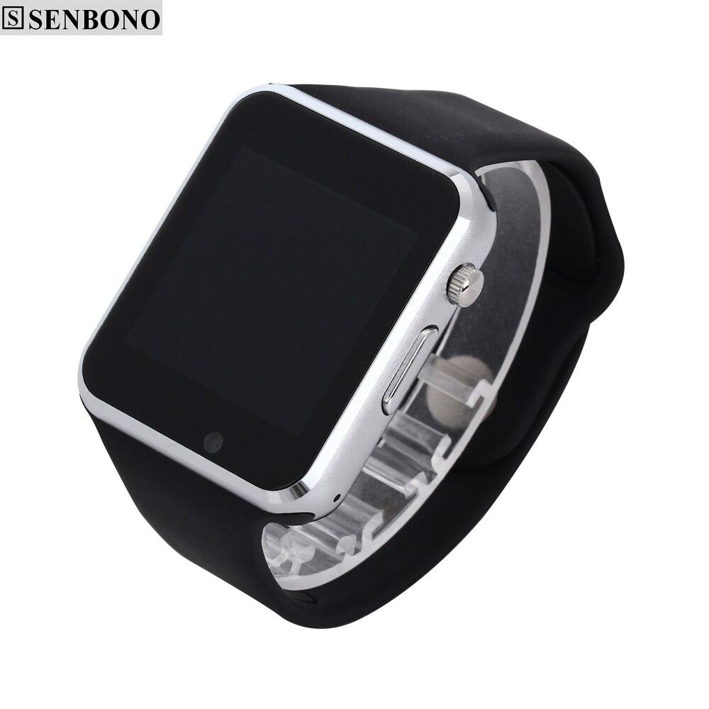 imágenes para Envío libre A1 Reloj Bluetooth Inteligente Reloj Deportivo Podómetro Con SIM Cámara Smartwatch Para Android Smartphone de Rusia T15