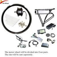 Duty Free 36V 350W Electric Bike Kit Bicycle Wheel Motor Ebike e bike Electric Bike Conversion Kit Brushless Gear Hub Motor