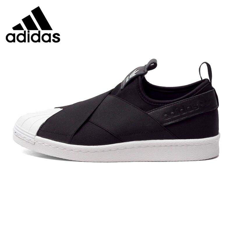Prix pour Original Nouvelle Arrivée Adidas Originals Superstar Femmes de Planche À Roulettes Chaussures Sneakers