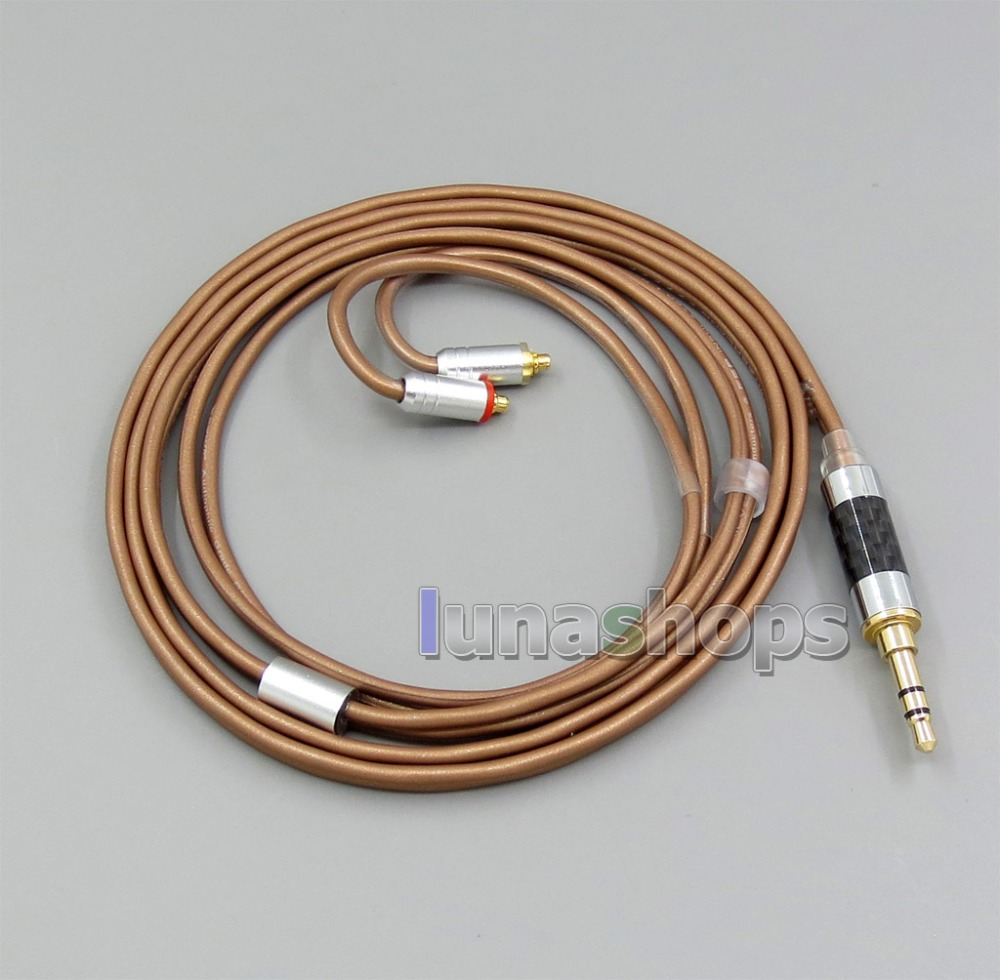 3.5mm 2.5mm 4.4mm Balanced 99.97% PURE Silver Cable For Shure se215 se315 se425 se535 Se846 MMCX 800 wires soft silver occ alloy teflo aft earphone cable for shure se215 se315 se425 se535 se846 ln005408