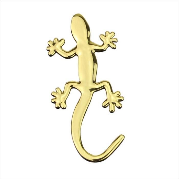 Buy car sticker decor styling cool 3d emblem lizard and get free ...