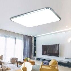 Nowoczesne lampy sufitowe LED wewnętrzne oświetlenie led luminaria abajur nowoczesne lampy sufitowe led do lampy do salonu do domu w Oświetlenie sufitowe od Lampy i oświetlenie na