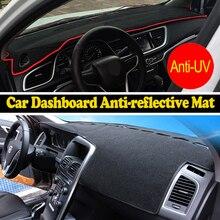 Salpicadero del coche estera cubierta para Nissan MICRA 2010-2015 años con volante a la Izquierda salpicadero pad fundas dash dashboard accesorios