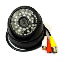 1/3 700TVL Sony CCD IR Color Audio Security CCTV Camera Dome Indoor 48Leds D/N night vision