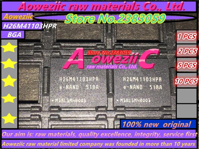 Aoweziic  (1PCS) (2PCS) (5PCS) (10PCS) 100% new original   H26M41103HPR BGA  Memory chip aoweziic 5pcs 100