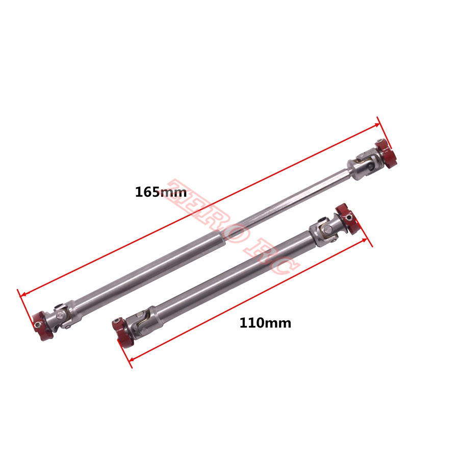 8pcs Metall Pull Link Rod Ersatz für SCX10 Traxxas TRX 4 1//10 RC Auto Crawler