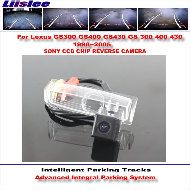 Liislee высокое качество 3089 чип интеллектуальная задняя камера для Lexus GS300 GS400 GS430 1998 ~ 2005 NTSC PAL RCA AUX HD SONY CCD