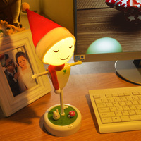 Scarecrow LED Night Light Touch Sensor 3D Lamp USB Charged Table Lamp Child S Christmas Gift