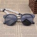 Oculos De Sol Feminino sunglasses Women  2016 Fashion Mens Sun glasses Popular New Design Wooden glasses For Free Shipping Y111