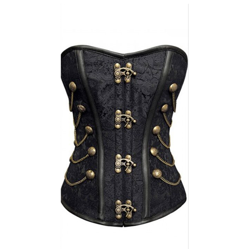 Women new style top quality steampunk   corsets     bustier     corsets