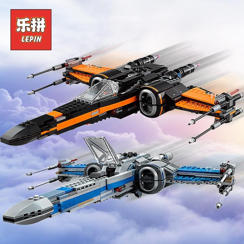 Lepin Star Plan Wars 05004 05029 X Wing Toys Starfighter 05005 Tie Fighter Model Building Blocks 75102 75149 Toy Lepin Starwars