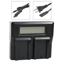 DSTE LCD167A Dual Battery Charger With USB Port For Sony NP FZ100 BC QZ1 Alpha 9