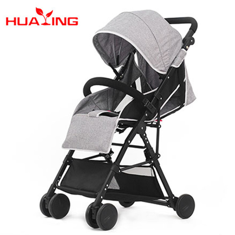 High landscape ultra light baby cart wholesale can sit down to lie folding and light baby handcart for children's parachute car