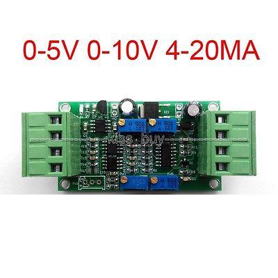 0-5V 0-10V 4-20mA Load Cell Sensor Module Transmitter Signal Amplifier Broad Transducer