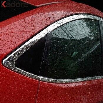 Para Hyundai Accent i25 Sedan 2011 2012 Janela de Aço Inoxidável Moldagem Decore Capa Guarda Guarnição Acessórios do Exterior