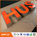 Wholesale stainless steel LED marquee letters lights LED neon letter sign