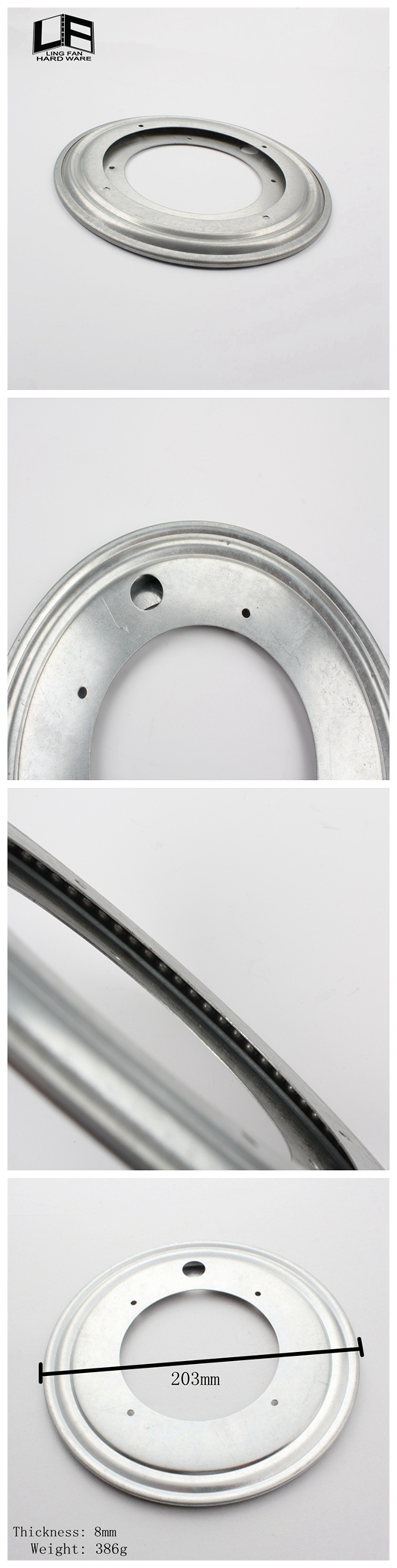 Most Popular 8 Inch Lazy Susan Hardware Lowes Rotating Swivel Plate  Turntable Bearing