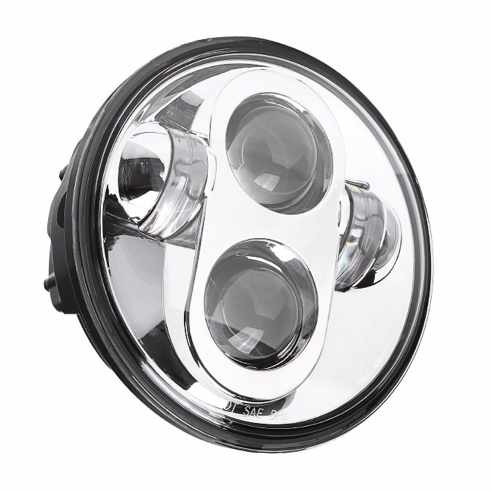 Waterproof 40w 5.75 Inch Moto Round Led Projector Motorcycle Headlight For Harley Davidson Lights Home