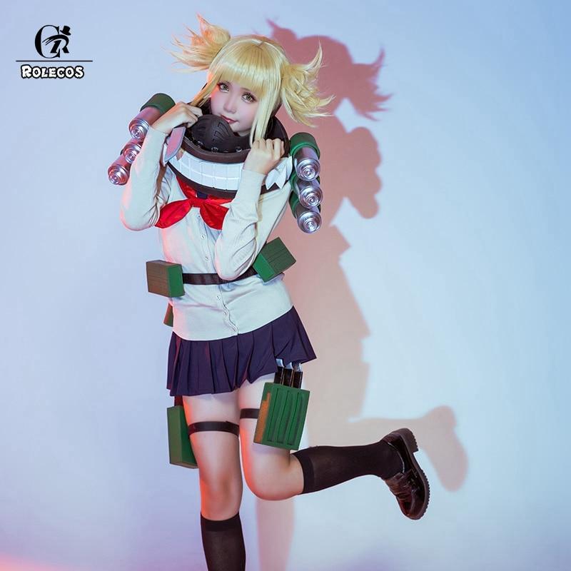 ROLECOS My Hero Academia Anime Cosplay Costume Himiko Toga Cosplay Boku no Hero Academia Costume