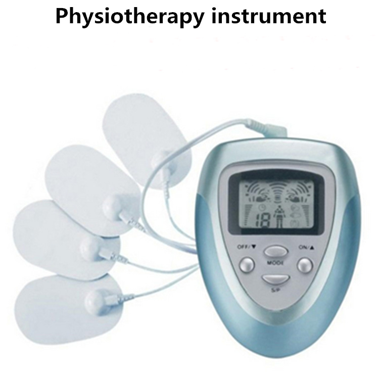 Electronic Pulse Massager Body Slimming Massage with Electrode Pads for <font><b>Muscle</b></font> Relax Pain Relief Electric <font><b>Muscle</b></font> Stimulator