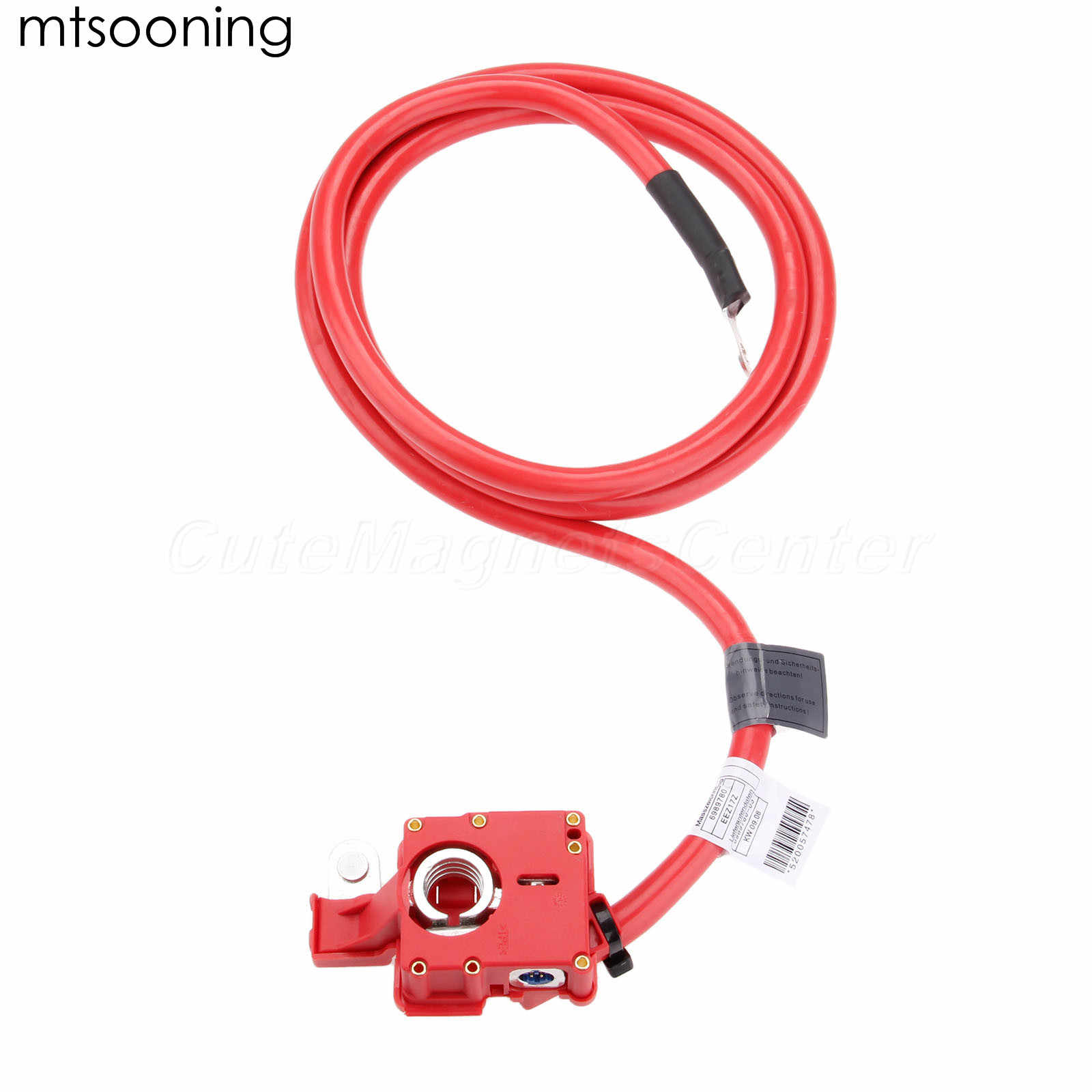 Mtsooning Positive Battery Cable 61126989780 For Bmw 525xi 528i 530i 535xi Xdrive 530xi 550i