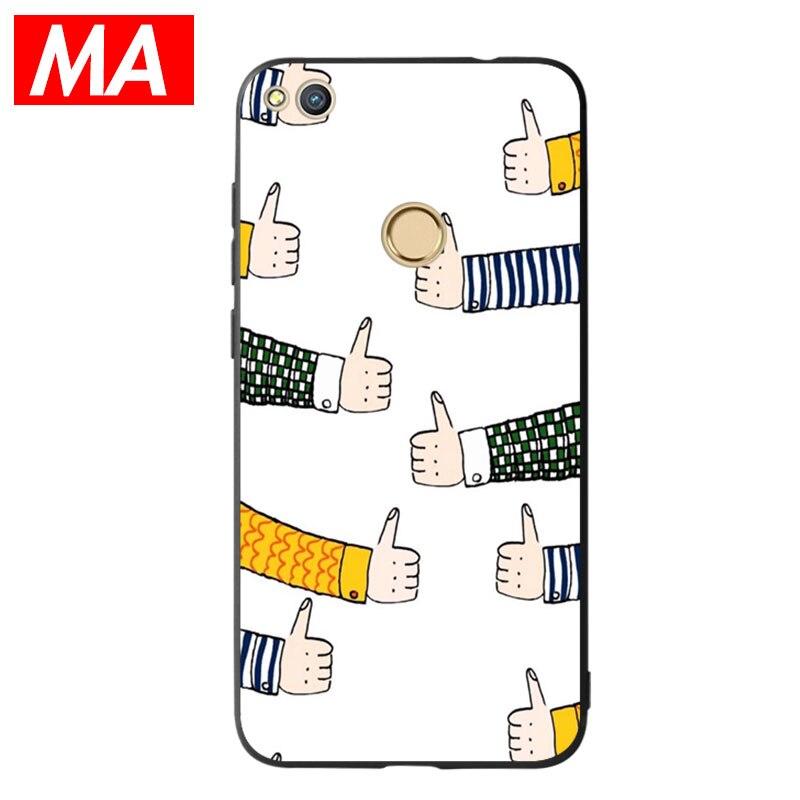 MA The Phone Case For Huawei P8 lite 2017 P9 P10 P20Lite Plus Nova Honor 6C 6A 6X Honor 8 Honor 9 Mate10lite