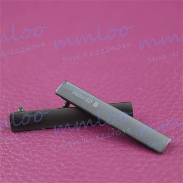 100% Оригинальные SIM карты Micro SD зарядка через usb слот порты и разъёмы Блок для пылезащитной заглушки чехол для Sony Xperia Z3 Compact z3c Mini d5803 d5833