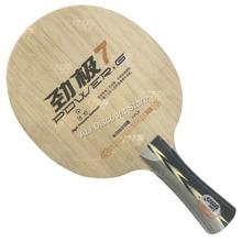 DHS POWER G 7 (PG7, ohne Box) PG 7 Tischtennis Klinge (Klassische 7 Lagen) schläger Ping Pong Bat Paddel