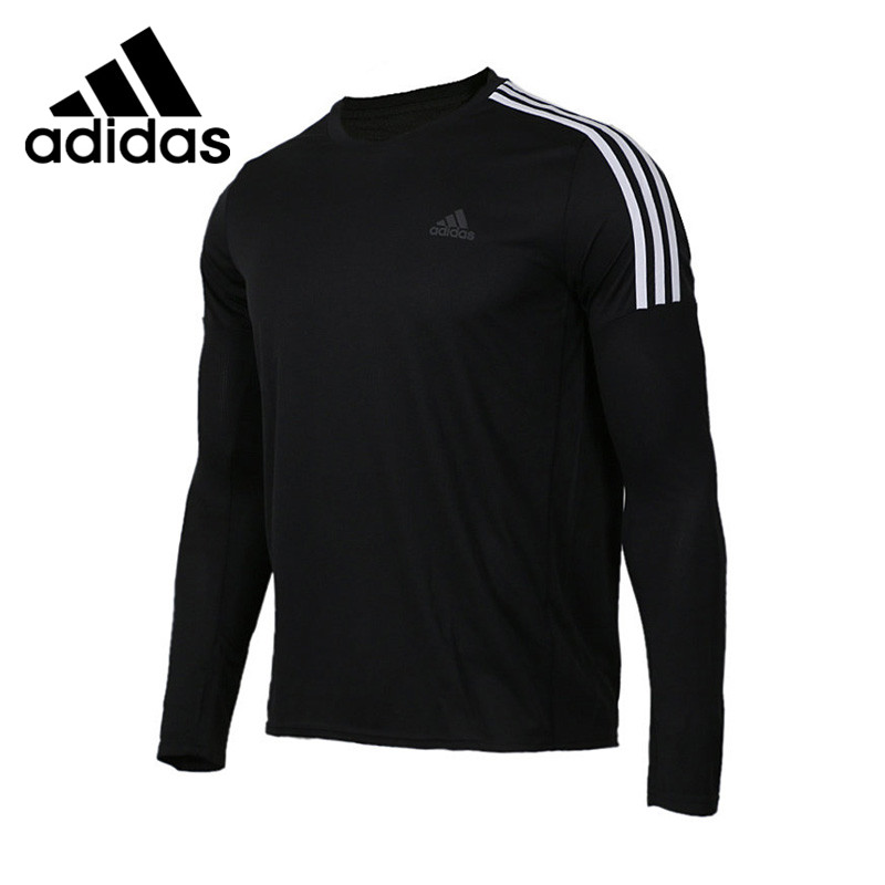 Original New Arrival Adidas RUN 3S LS M Men's T-shirts Long Sleeve Sportswear