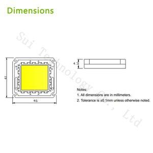 Image 2 - DC12V LED Floodlight 20W 30W 50W White Warm White LED Chip 20 30 50 W Watt  For LED Floodlight Spotlight Outdoor Lighting