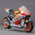 Motos em miniatura modelo toys marc marquez motogp repsol #93 motocicleta diecast maisto 34587 1:18