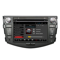 Car DVD 2 din Android 7.1 For Toyota Rav4 2007 2008 2010 2din car pc stereo gps navigation with capacitive screen+wifi