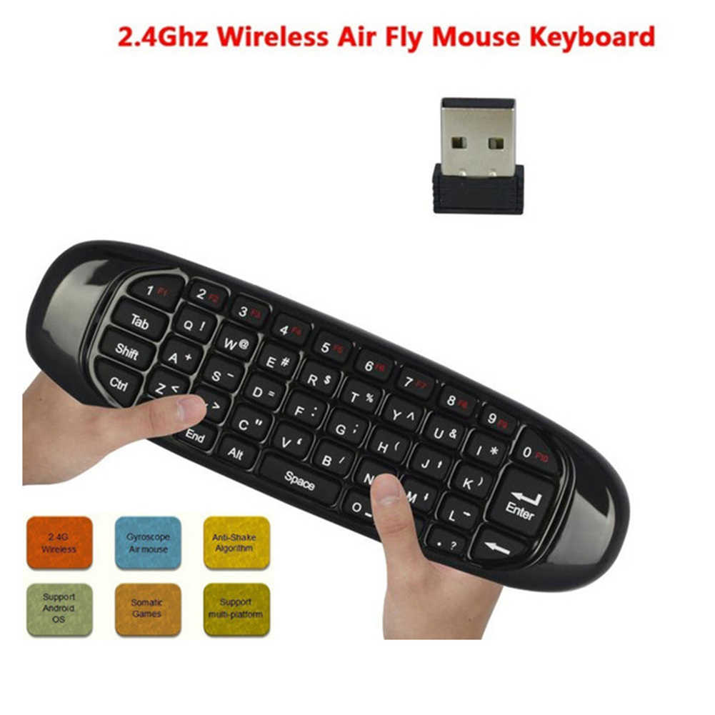 Backlit Air Mouse Smart Voice Remote Control 2.4G RF Wireless Keyboard Compatible for X96 Mini KM9  WIF66