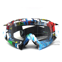 New High Quality Transparent Sport Racing Off Road Oculos Lunette Motocross Goggles Glasses For Motorcycle Dirt