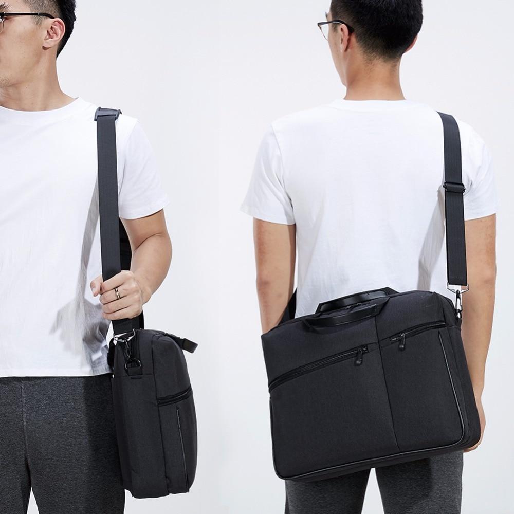 KALIDI noutbuk çantası 15.6 düymlük Kompüter çiyin çantası - Noutbuklar üçün aksesuarlar - Fotoqrafiya 6