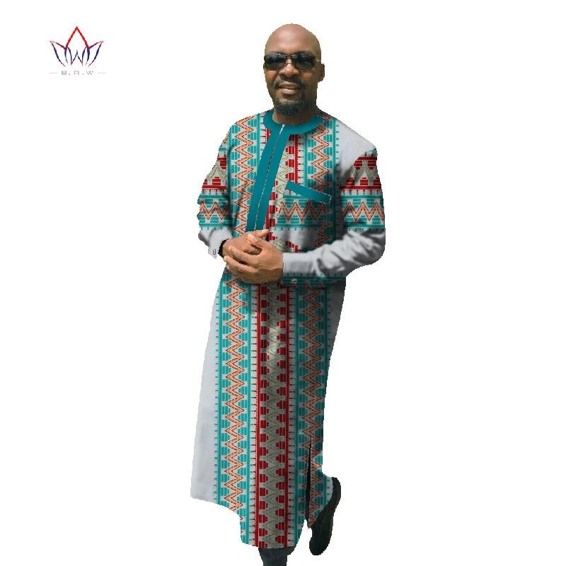 2017 Africain Imprimer Dashiki Pour Hommes Plus La Taille Africain - Vêtements nationaux - Photo 3