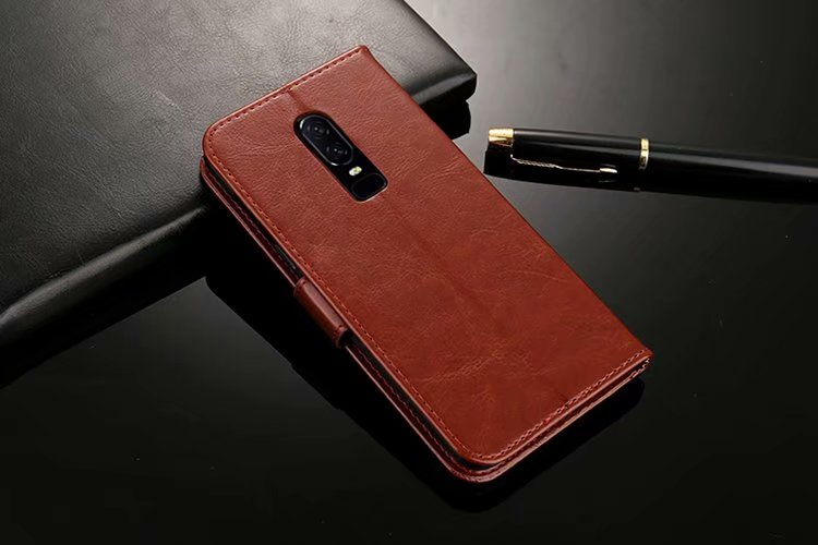 Luxury Retro Wallet Stand Flip Leather Case For <font><b>Oneplus</b></font> 7 Pro 6 6T 5 5T 3 3T <font><b>One</b></font> A001/Two 2/3 Three A003 Wallet <font><b>Back</b></font> Case image