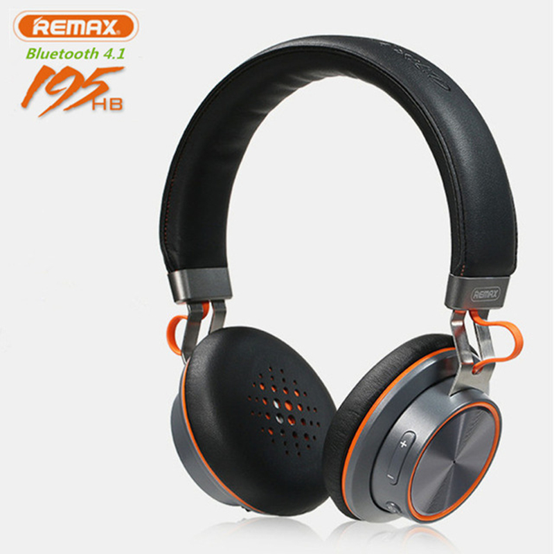 2018 New hots Remax 195HB wireless Bluetooth headphone stereo headset Bluetooth 4.1 music headset with mic For Xiaomi IPhone philips gc 4860 37