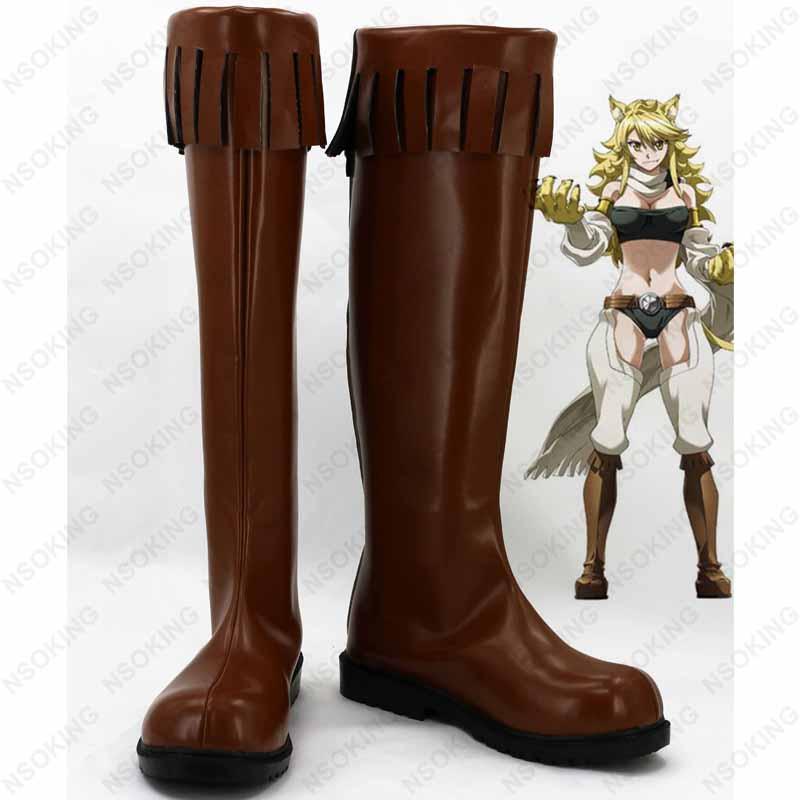 Schuhe Auf In Anime KillLeone anime Ga 12 Us57 Akame 16Off Aus Cosplay Stiefel 5A4LRj