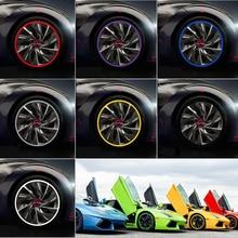 Car Wheel Hub Tire Sticker Strip Wheel Rim Protection font b Care b font Cover For