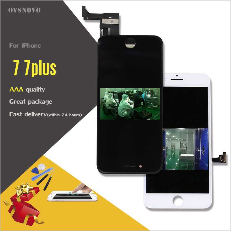 Ovsnovo Promotion For 5 Star Work Well LCD Touch Screen For IPhone6 5 6s 7 7plus