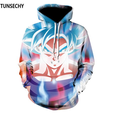 TUNSECHY Brand Dragon Ball 3D Hoodie Sweatshirts Men Women Hoodie Dragon Ball Z Anime Fashion Casual Tracksuits Boy Hooded 18