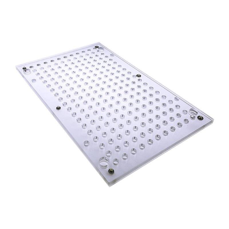 000#00#0#-4#209 Hole Capsule Filling Plate / Capsule Filling Machine Manual Capsule Filling Machine Manual Capsule Machine