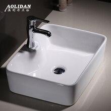 9л раковина для ванной комнаты, рекламная душевая занавеска, столешница для ванной комнаты, квадратная раковина для умывальника, санитарно-техническая керамика, художественная посуда