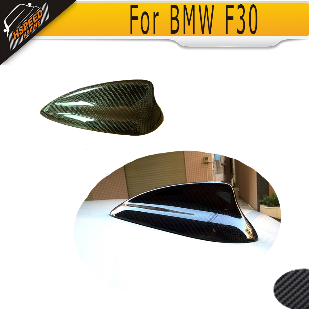 Antena de moldura de techo de coche de fibra de carbono para BMW F30 13-15