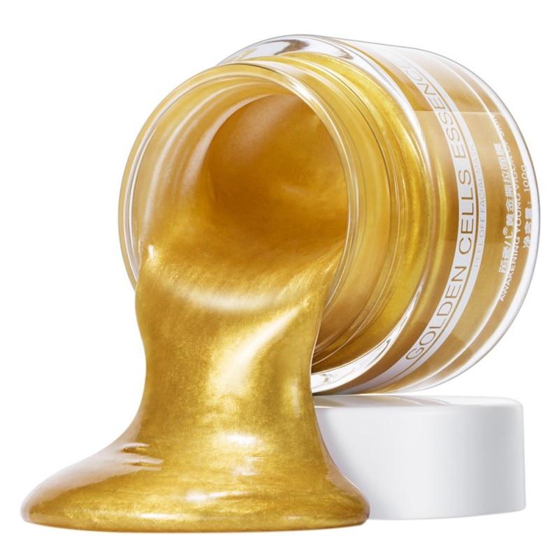 Crystal Gold Collagen Moisturizing Anti-aging Facial Mask Gold Bio-Collagen Facial Tear Mask Facial mask