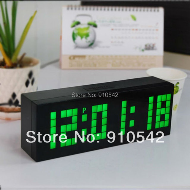 Modern Fashional LED Digital Backlight Alarm Clock Countdown Calendar Thermometer Snooze