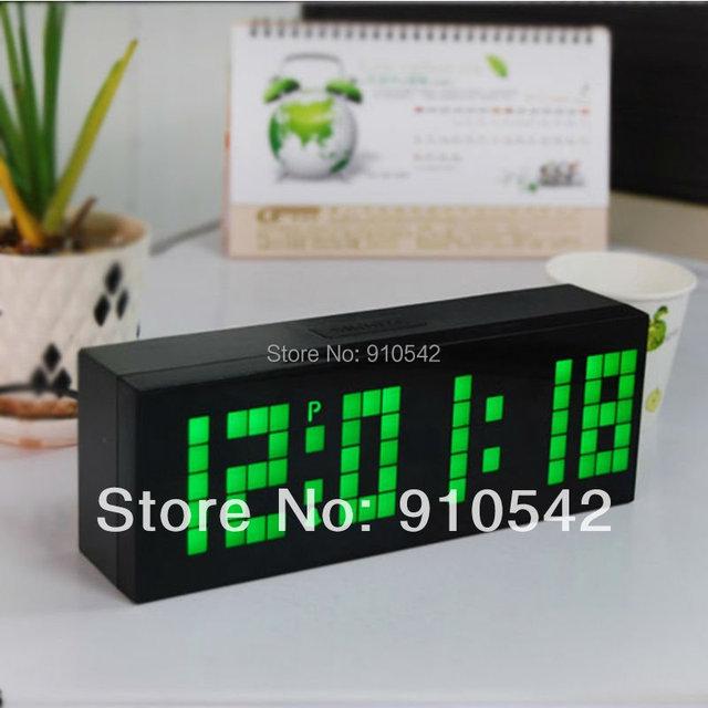 Modern Fashional LED Digital Backlight Alarm Clock Countdown Calendar Thermometer Snooze