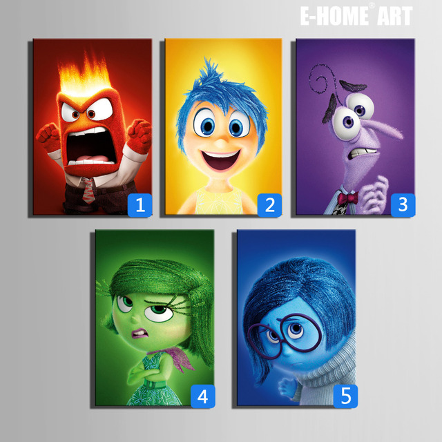 HD Cartoon Canvas Art Print Painting Poster Wall Pictures For Home Decoration